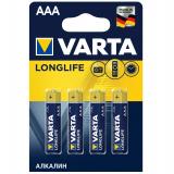 бат.  VARTA LR03 LONGLIFE EXTRA BL4 (4/40) [4/40/200]