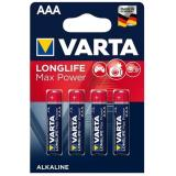 бат.  VARTA LR03 MAX TECH / LONGLIFE MAX POWER BL4 (4/40) [4/40/200]