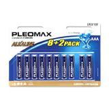 бат. Samsung LR03 Pleomax BL8+2 [10/100/600?]