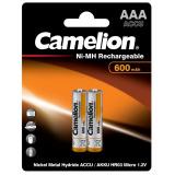 акк. Camelion  AAA 600mAh NiMH BL2 [2/24]