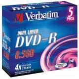 двд VERBATIM DVD-R 8.5 GB 4x 215мин Jewel /5/ [1?]