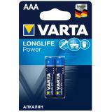 бат.  VARTA LR03 HIGH ENERGY / LONGLIFE POWER BL2 [2/20/100]