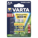 акк. VARTA  R06 2400mAh Ni-MH Ready2Use BL2 (2/20) [2/20]