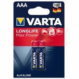 бат.  VARTA LR03 MAX TECH / LONGLIFE MAX POWER BL2 [2/20/100]