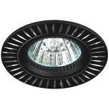 ЭРА KL31 AL/BK Светильник алюминиевый MR16,12V, 50W черный/серебро [1/50]