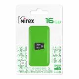 Карта памяти micro SDHC 16GB MIREX class10 [1/10]