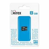 Карта памяти micro SDHC 8GB MIREX class4 [1/10?/2?]