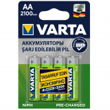 акк. VARTA  R06 2100mAh Ni-MH Ready2Use BL4 (4/40) [4/40]