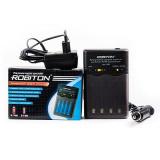 з/у Robiton Smart S100 Автоматическое для Ni-MH/Ni-Cd аккумуляторов [1]