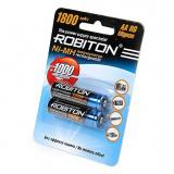 акк. Robiton  AA 1800mAh Ni-MH BL2 (2/50) [2/50/200]