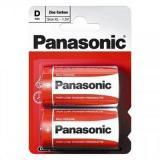 бат. Panasonic R20 Zinc Carbon BL2 [2/24/120]