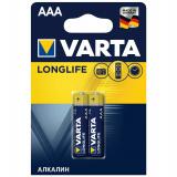 бат.  VARTA LR03 LONGLIFE EXTRA BL2 [2/20/100]