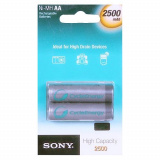 акк. SONY  R06 2500mAh Ni-MH Cycle energy BL2 (2/20)