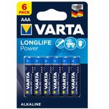 бат.  VARTA LR03 HIGH ENERGY / LONGLIFE POWER BL6 [6/60/300]