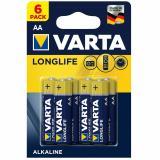 бат.  VARTA LR06 LONGLIFE EXTRA BL6 [6/60/300]
