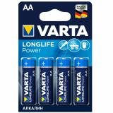 бат.  VARTA LR06 HIGH ENERGY / LONGLIFE POWER BL4 [4/80/400]
