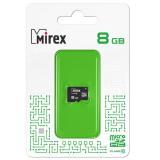 Карта памяти micro SDHC 8GB MIREX class10 [1/10]