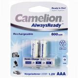 акк. Camelion  AAA 800mAh NiMH AlwaysReady BL2 (2/24) [2/24/480]