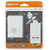 TDM ЗББ-11/3-36М Беспроводной звонок на батарейках (36 мелодий, кнопка IP30, 2х1,5В АА) [1]