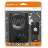 TDM ЗБР-11/М1-36М Беспроводной звонок в розетку (36 мелодий, кнопка IP44, AC 230V, многокодовый) [1]