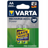 акк. VARTA  R06 2600mAh Ni-MH Ready2Use BL2 [2/20]