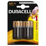 бат. Duracell LR6 BL6 [6/60?]