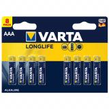 бат.  VARTA LR03 LONGLIFE EXTRA BL8 [8/160]