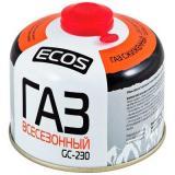 Экос GC-230 Газ в баллоне портативном (резьбовой, 230 г, Корея) [1/12]