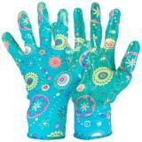 Перчатки хозяйственные PARK EL-F002, размер 7 (S), полиэстер+нитрил [1/12/120]