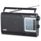 VITEK VT-3582 (BK) Радиоприемник, Настройка частоты: аналоговая, Тип батареек: C/R14 (черный) [1/10]
