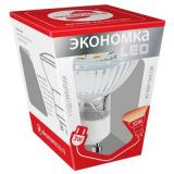 Лампа ЭКОНОМКА LED 3Вт GU10 3000K, матовое стекло [1]
