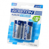 бат. Robiton LR14 Standart BL2 (2/24/120) [2/12]