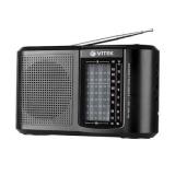 VITEK VT-3590 (BK) Радиоприемник, Настройка частоты: аналоговая, Сетевой адаптер (черный) [1/10/1?]