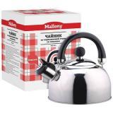 Mallony DJA-3023 Чайник 3л со свистком, нерж.сталь, капсульное дно [1/6]