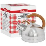 Mallony DJB-3293 Чайник 3л со свистком, нерж.сталь, капсульное дно [1/6]