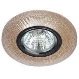 ЭРА DK LD1 BR Светильник декор cо светодиодной подсветкой,  коричневый [1/50]