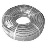 Труба гофр. GOFR-63-15-PVС  ЭРА (серый) ПВХ d 63мм с зонд. легкая 15м [1]