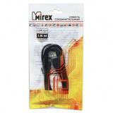 Кабель соединительный Mirex USB 2.0 AM-miniBM 1,8 метра, двойной экран [1/25]
