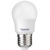 General GLDEN-G45F-7-230-E27-4500 Светодиодная лампа [1/10/100]