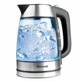 MAXWELL MW-1076 (TR) Чайник электрический, Мощность: 2200Вт, Объем: 1,7л (стекло) [1/8]