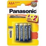 бат. Panasonic LR03 Alkaline Power BL4+2 [6/72]