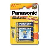 бат. Panasonic LR06 Alkaline Power BL4 стикер [4/48/240]