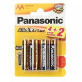 бат. Panasonic LR06 Alkaline Power BL4+2 [6/72]