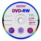 двд. Smartbuy DVD-RW 4,7GB 4x SL-5 (5/200)