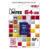 Карта памяти SDXC MIREX 64GB (UHS-I, class 10) [1]