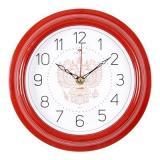 2121-300 (5) Часы настенные круг d=21см, корпус красный