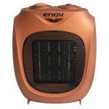 Engy РТС-300A, Тепловентилятор керамический, Мощность 1500 Вт, 2 режима мощности (750/1 500 Вт), Бронзовый