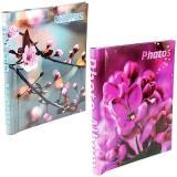 """Фотоальбом 10 """"магнитных""""листов 23X28см, пер-т внутр.спираль, Spring flowers [1]"""