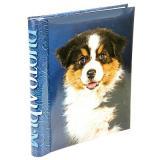 """Фотоальбом 30 """"магнитных""""листов 23X28см, пер-т внутр.спираль, Dog [1]"""