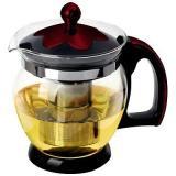 Mallony Decotto-1200 Чайник заварочный 1,2л, стекло, пластик, металл.ситечко [1/36]